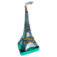 "7"" Eiffel Tower Ornament, Blue"