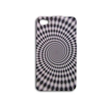 Black and White Psychedelic Phone Case Cute iPhone Cover Cool Trippy iPod Case iPhone 4 iPhone 4s iPhone 5 iPhone 5s iPod 4 Case iPod 5 Case