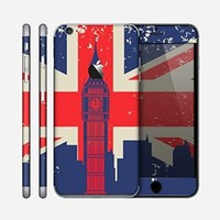 The Vintage London England Flag Skin for the Apple iPhone 6 Plus