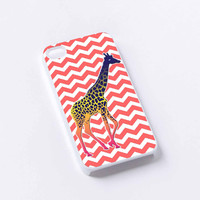 chevron giraffe iPhone 4/4S, 5/5S, 5C,6,6plus,and Samsung s3,s4,s5,s6