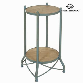Metal side table by Craften Wood