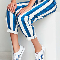 Vans & UO Striped Authentic Sneaker - Urban Outfitters