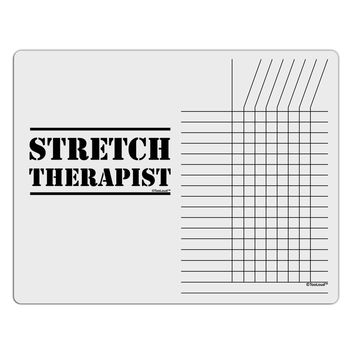 Stretch Therapist Text Chore List Grid Dry Erase Board by TooLoud