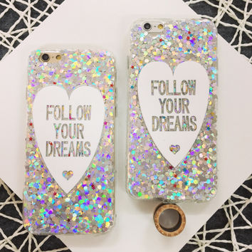 Bling Bling Follow Your Dream Case for iPhone