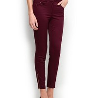 MANGO - SALE - Cropped slim-fit trousers