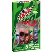 Mountain Dew Flavored Lip Balms- 5 Pack