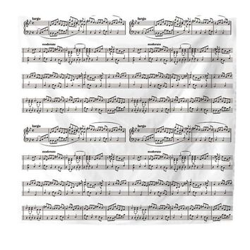 Music Notes Tapestry