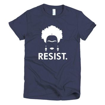 Frida Kahlo Resist t-shirt / Frida Kahlo t shirts / Frida Kahlo art shirt