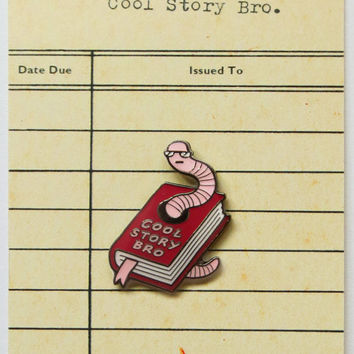 Cool Story Bro Enamel Pin Badge