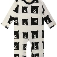 Bear Family Playsuit by Lilly+Sid