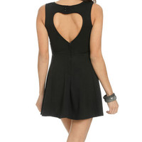 Heart Back Skater Dress | Shop Dresses at Wet Seal