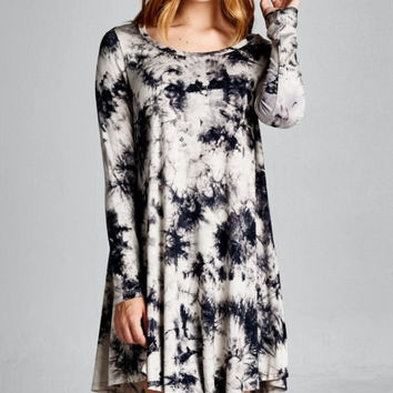 Paradise Tie-dye Tunic Dress