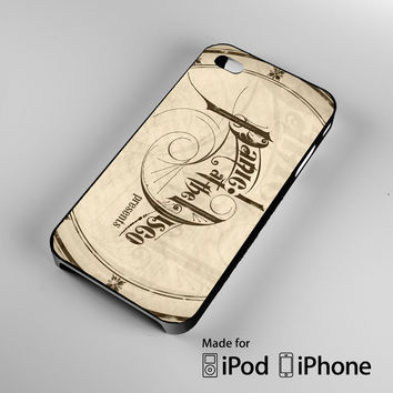 Panic at the disco logo iPhone 4 4S 5 5S 5C 6, iPod Touch 4 5 Cases