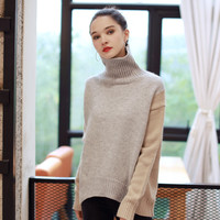 Quintina 2016 New Fashion Women Pullovers Knitting Turtleneck Sweater Thickness Free Size Autumn Women Sweater