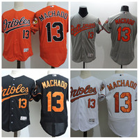 2017 Baltimore Orioles Flexbase 13 Manny Machado Jersey Cool Base Baseball Jerseys 1992-2017 25th Anniversary Orioles Patch Mens Stitched