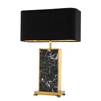 Black Marble Table Lamp | Eichholtz Arrive