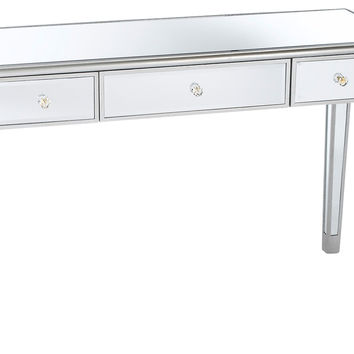 Console Sienna Mirrored, Acrylic / Lucite, Console Table