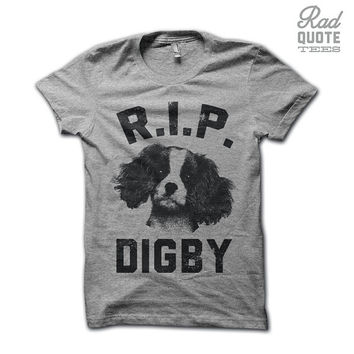 Rest In Peace Digby - The Interview T Shirt, Funny t shirt, humorous, movies, quote, funny quote,