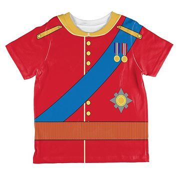 Halloween Prince Charming William Costume All Over Toddler T Shirt