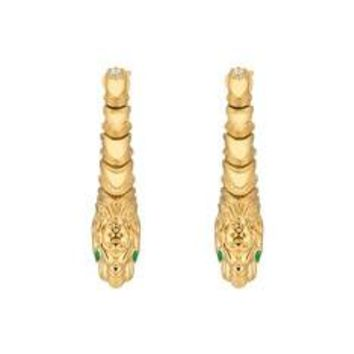 Gucci Dionysus yellow gold earrings