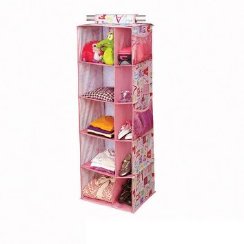 Laura Ashley 10-Shelf Hanging Organizer