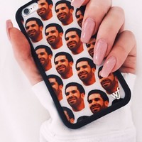 Wildflower White Drizzy iPhone 6/6S Case