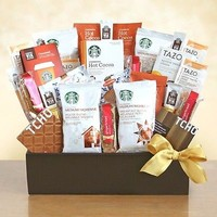 Starbucks Gift Basket by VC Gift Baskets