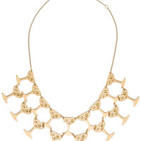 CHAMPAGNE FOUNTAIN NECKLACE - Default Title