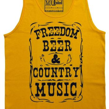 'Freedom, Beer & Country Music' Tank Top