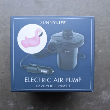 sunnylife - portable electric air pump