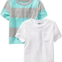 Pocket Tee 2-Packs for Baby