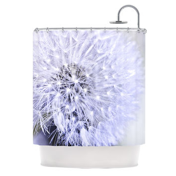 "Debbra Obertanec ""Lavender Wish"" Purple Flower Shower Curtain"