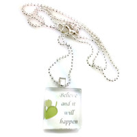 Mama Designs Inpirational Necklace | Overstock.com Shopping - The Best Deals on Necklaces