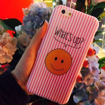 WHAT'S UP ?  iPhone 5se 5s 6 6s Plus Case Cover + Nice Gift Box 358