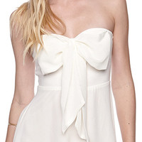 LA Hearts Strapless Bow Dress at PacSun.com