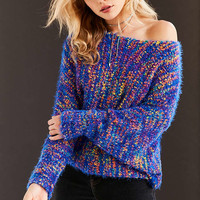 Ecote Funfetti Dolman-Sleeve Sweater - Urban Outfitters