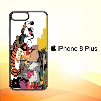 Calvin And Hobbes V0305 iPhone 8 Plus Case