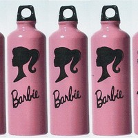 Barbie Inspired Decal Set of 5 for DIY Party Favors