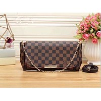 Tagre™ Louis Vuitton Women Shopping Leather Satchel Shoulder Bag Handbag Crossbody G