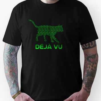 The Matrix - Deja Vu Cat Unisex T-Shirt