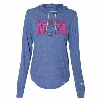 e66aa72ca9c Volleyball Mom - Womens Champion Brand Hoodie - Hooded Sweatshirt