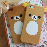 SALE30-70%OFF: Rilakkuma iPhone 5 case, iPhone cover, case for iPhone, Anime, Cartoon, japanese