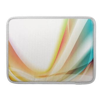 Abstract Swirl 2 Sleeves For MacBooks