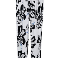 Summer Print Cotton Casual Women's Fashion Pants [4919972932]