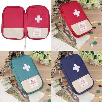 Portable First Aid Kit Bag Outdoor Camping Emergency Rescue Bag for Home Survival Bags for Sport Travel Medical Pill Storage Bag