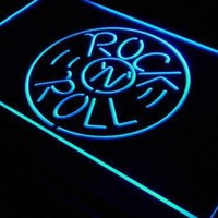 Rock n Roll LED Neon Light Sign