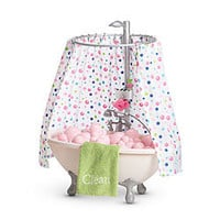 American Girl® Furniture: Bubble Bathtub & Shower