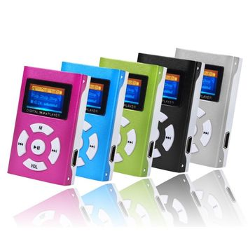 New Arrival USB Mini MP3 Player LCD Screen Support 32GB Micro SD TF Card