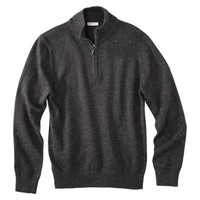Merona® Men's Long Sleeve Quarterl-Zip Sweater - Assorted Colors