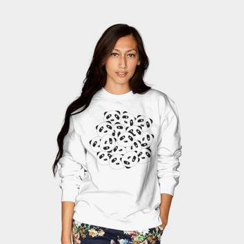 Pandamonium Crewneck By Lalainelim Design By Humans